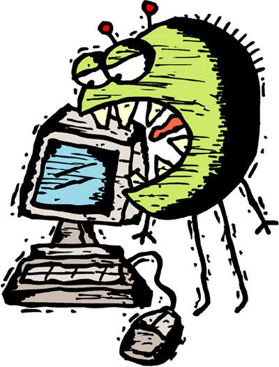 Какие признаки заражения компьютера вирусом.